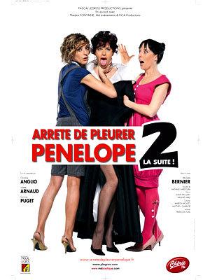 affiche du film Arrête de pleurer Pénélope 2