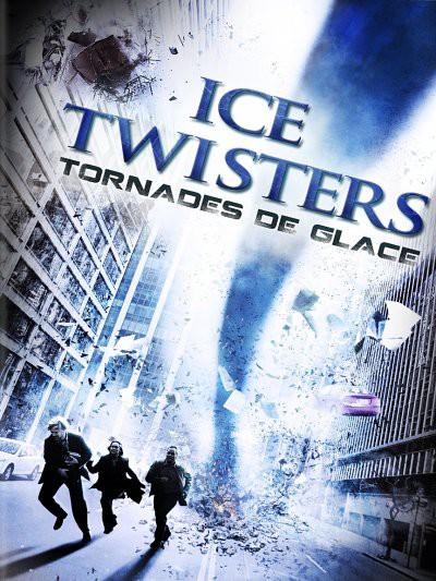 affiche du film Tornade de glace (TV)