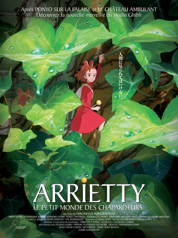 affiche du film Arrietty: Le petit monde des chapardeurs