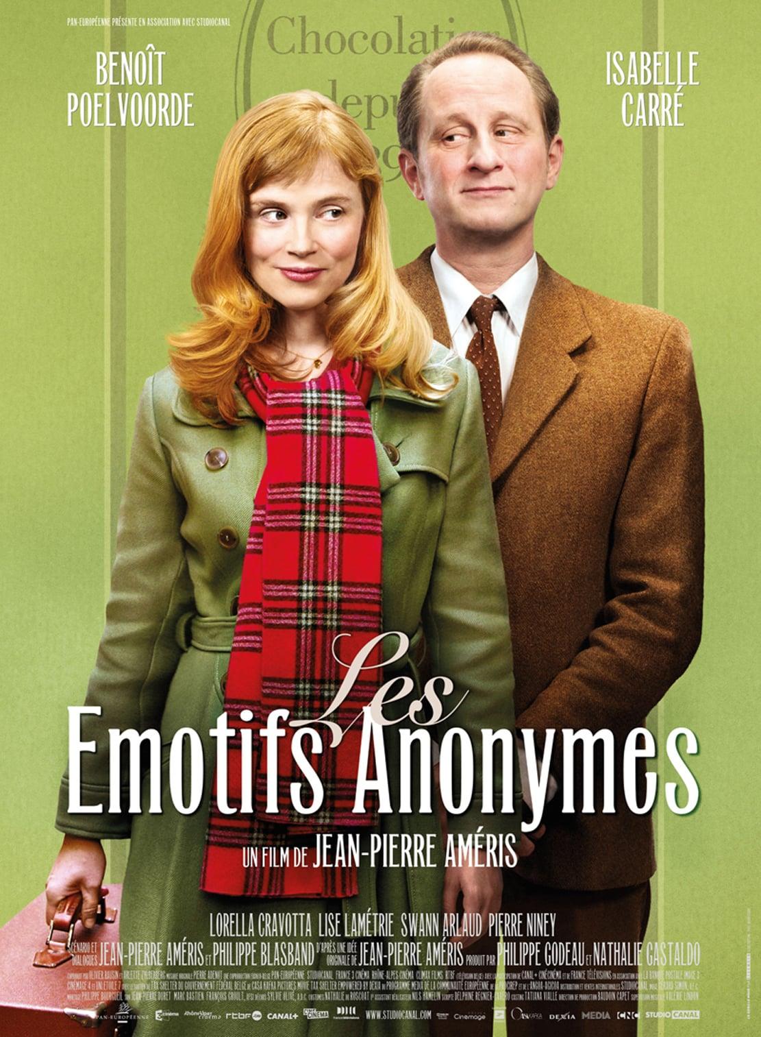 affiche du film Les émotifs anonymes