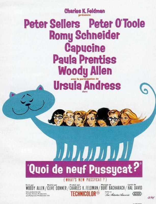 affiche du film Quoi de neuf, Pussycat ?