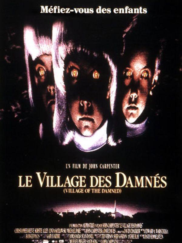 affiche du film Le village des damnés (1995)