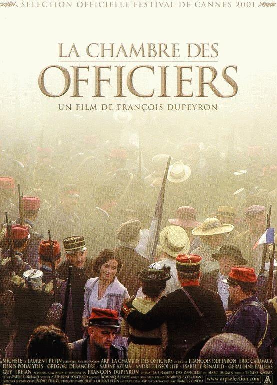 affiche du film La chambre des officiers