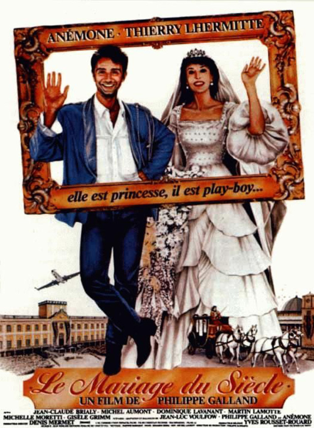 affiche du film Le mariage du siècle