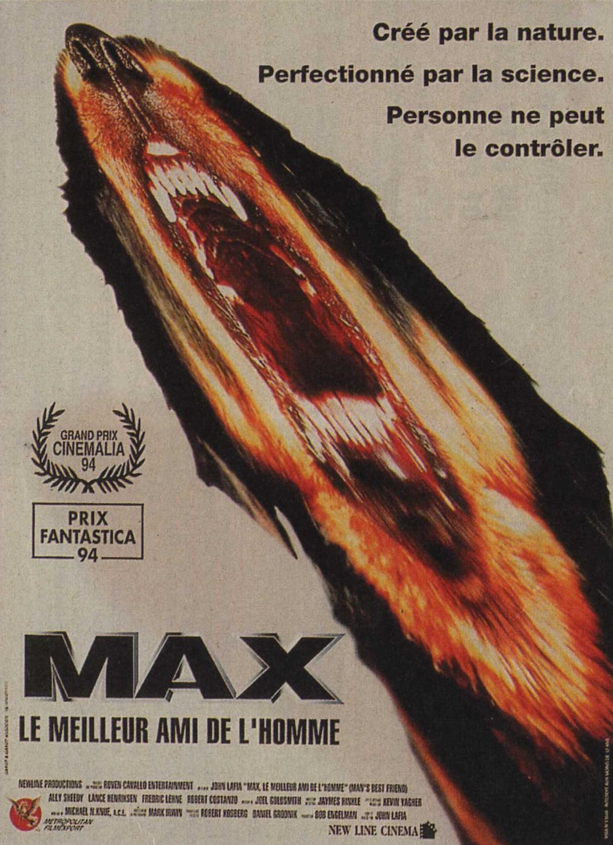 affiche du film Max, le meilleur ami de l'homme