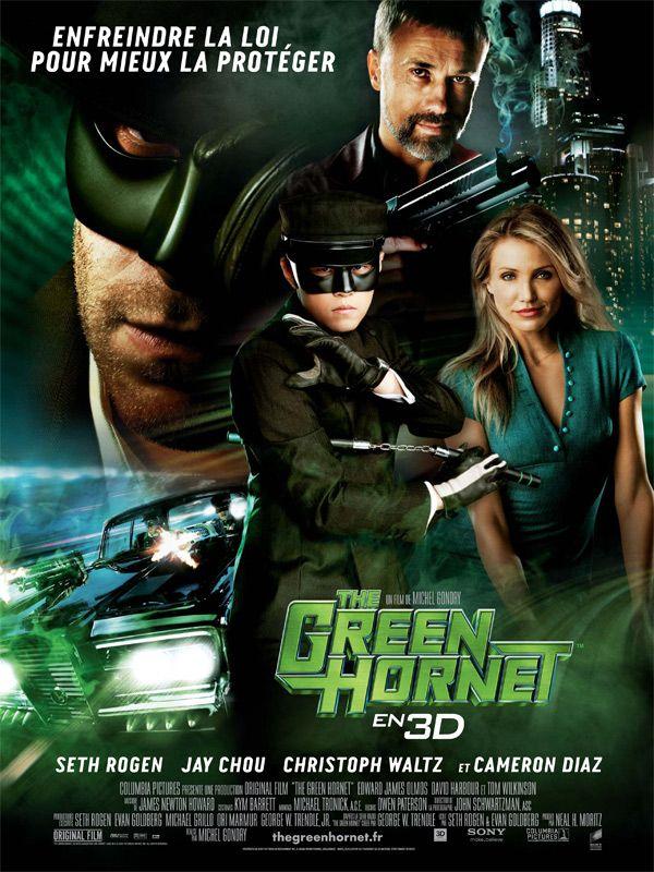 affiche du film The Green Hornet