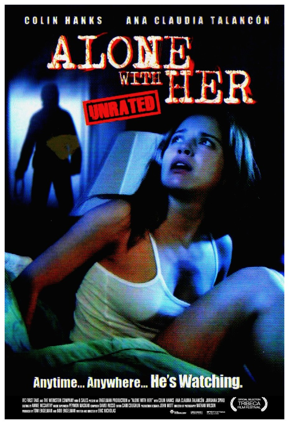affiche du film Alone with Her