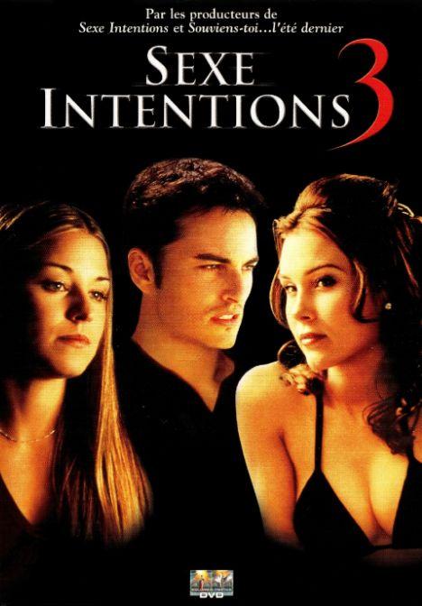 affiche du film Sexe intentions 3