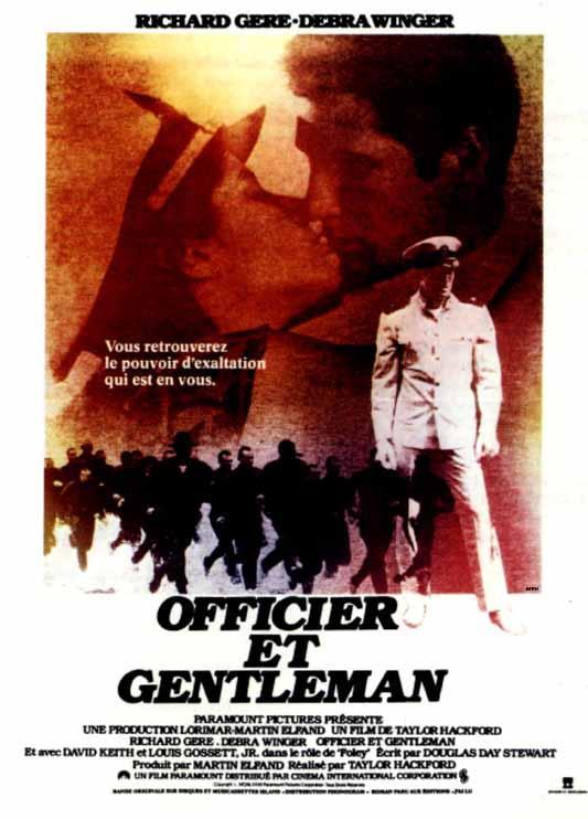 affiche du film Officier et gentleman