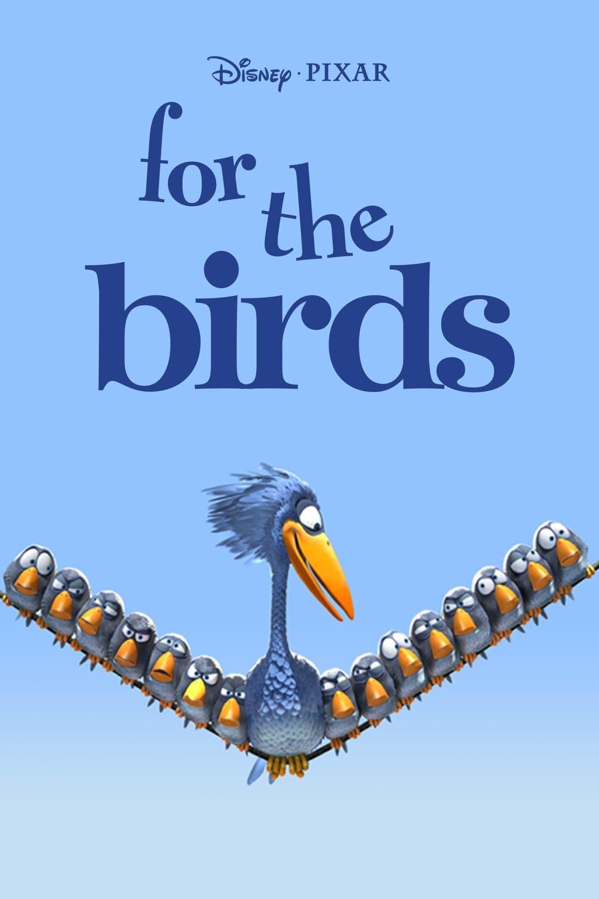 affiche du film Drôles d'oiseaux sur une ligne à haute tension