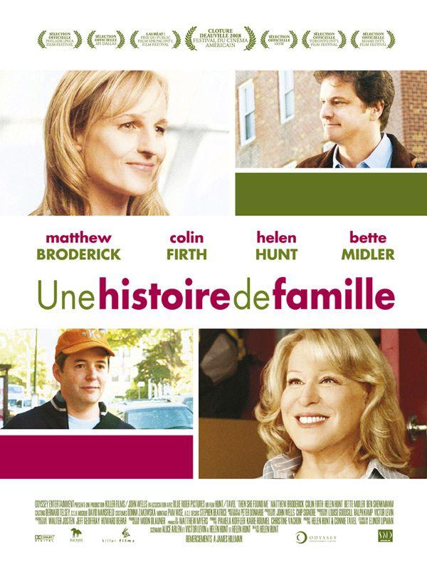 affiche du film Une histoire de famille