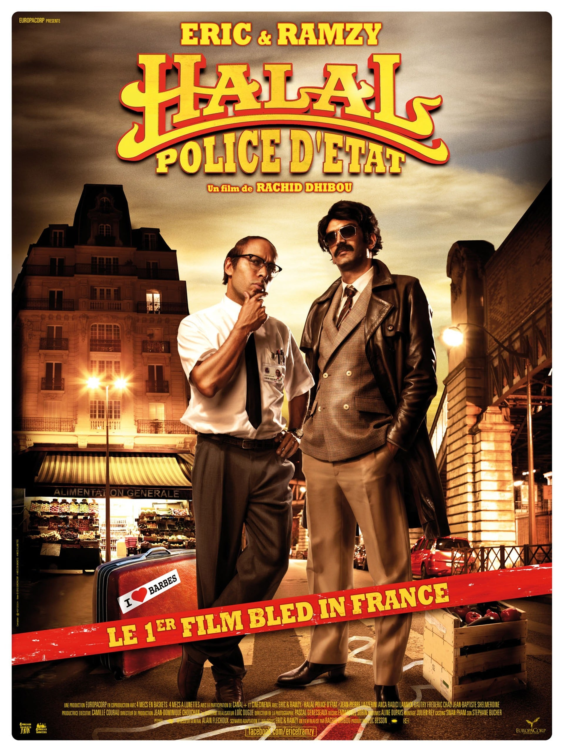 affiche du film Halal police d'État