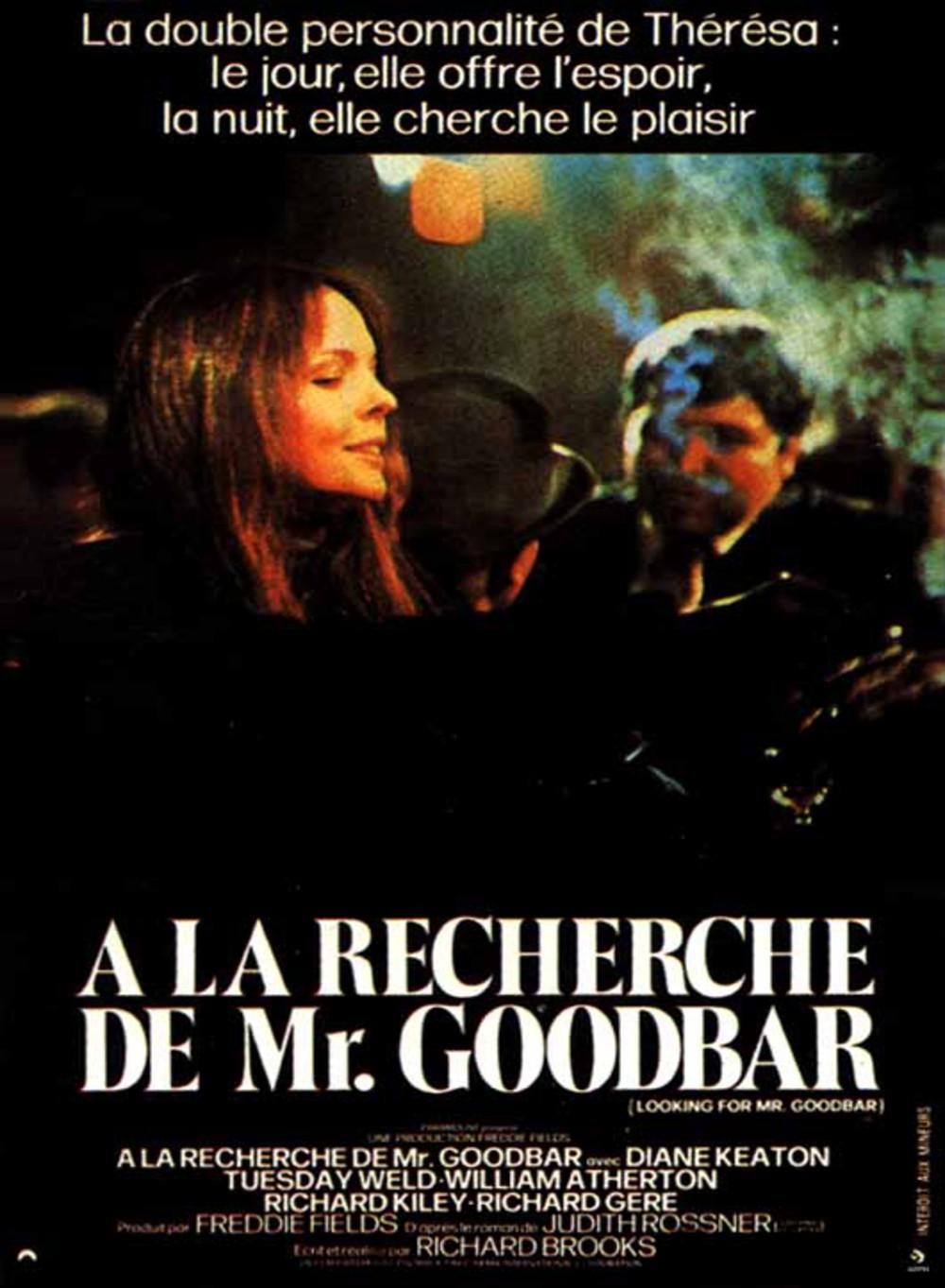 affiche du film À la recherche de Mr. Goodbar