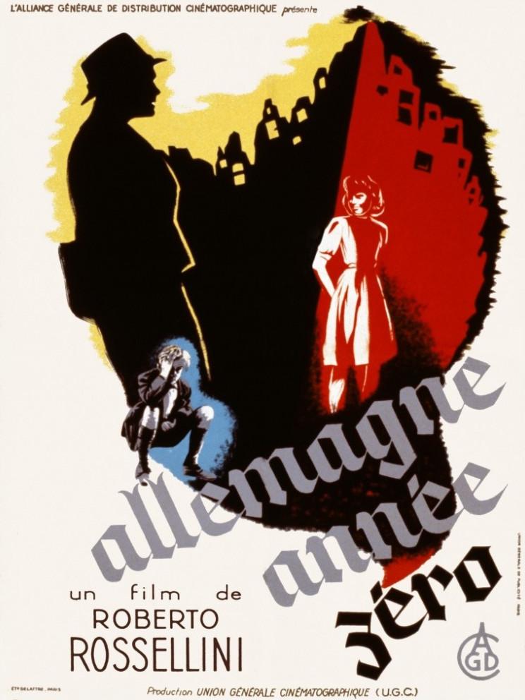 affiche du film Allemagne année zéro