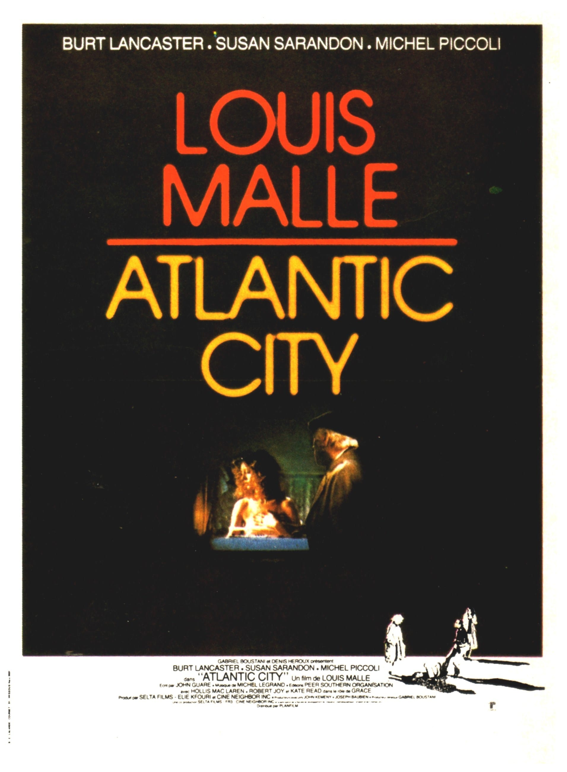 affiche du film Atlantic City