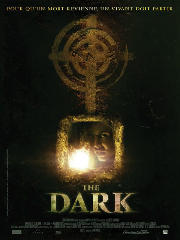 affiche du film The Dark