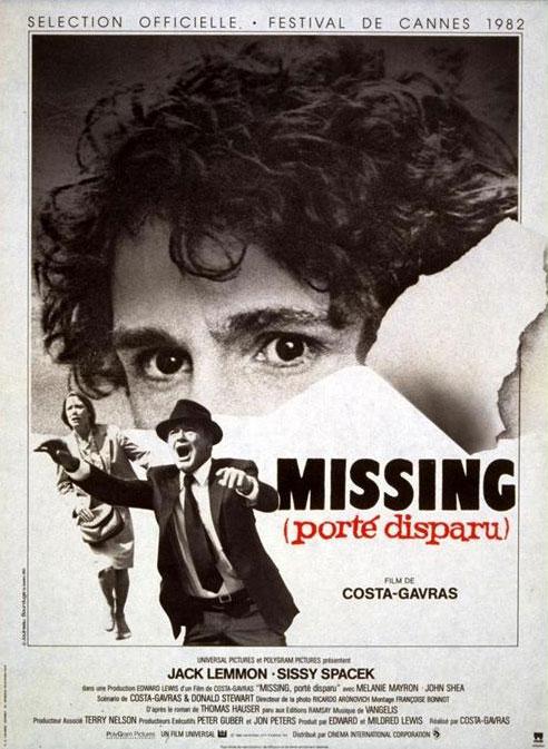 affiche du film Missing (Porté disparu)
