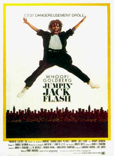 affiche du film Jumpin' Jack Flash