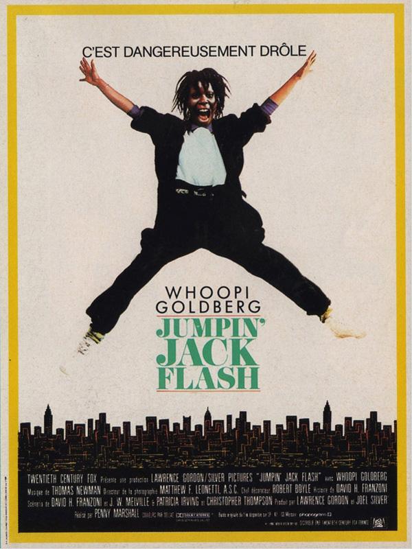 affiche du film Jumpin' Jack Flash