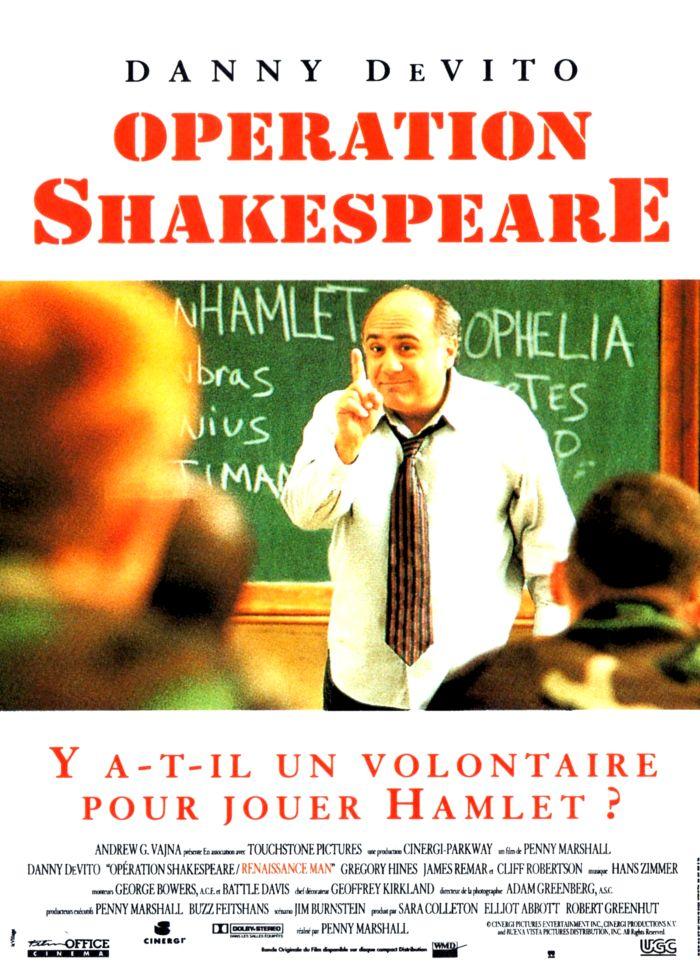 affiche du film Opération Shakespeare