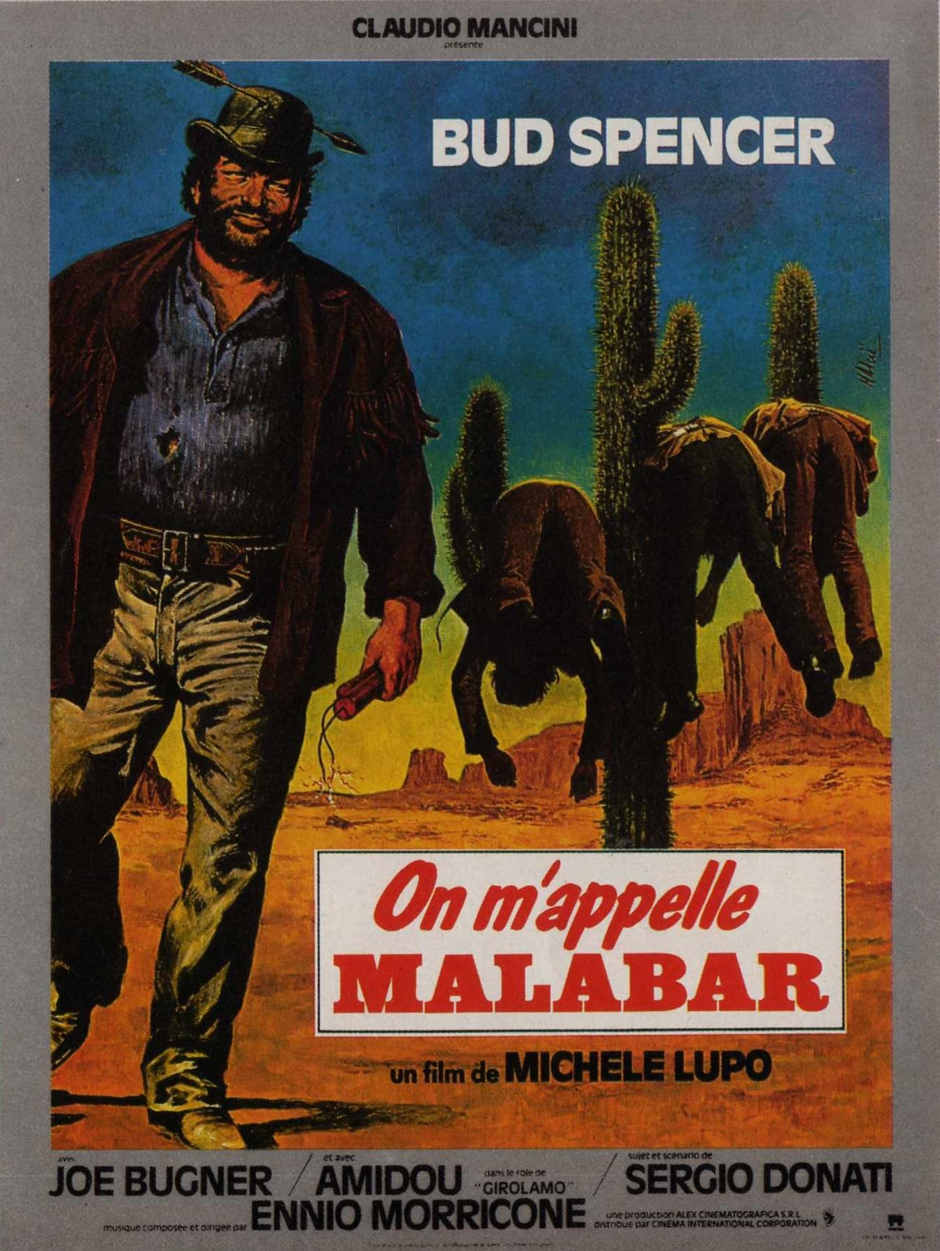 affiche du film On m'appelle Malabar
