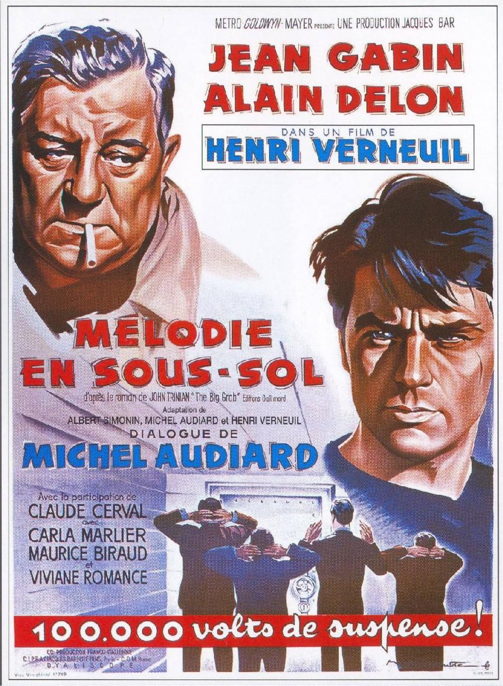 affiche du film Mélodie en sous-sol