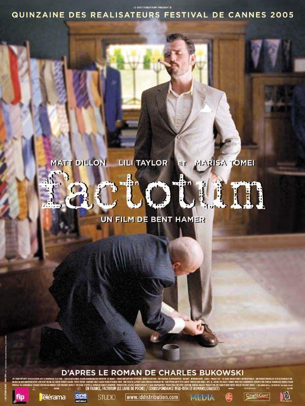 affiche du film Factotum