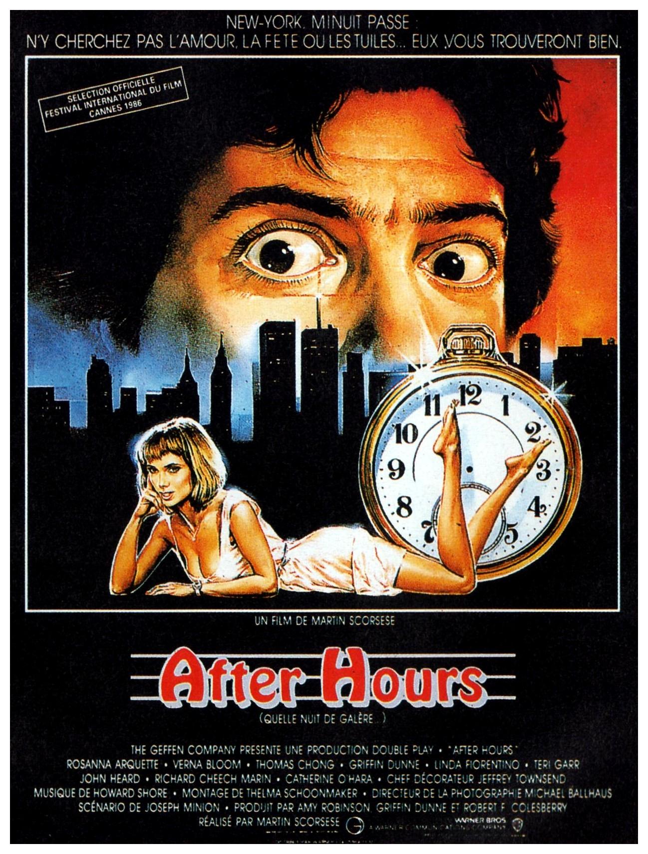 affiche du film After Hours : Quelle nuit de galère