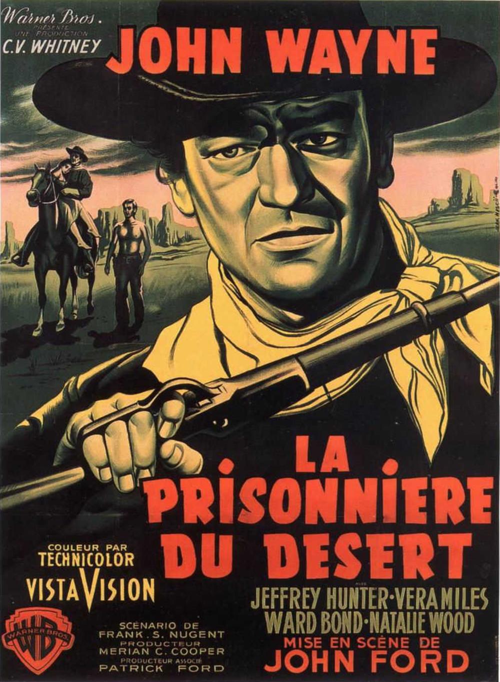 affiche du film La Prisonnière du désert