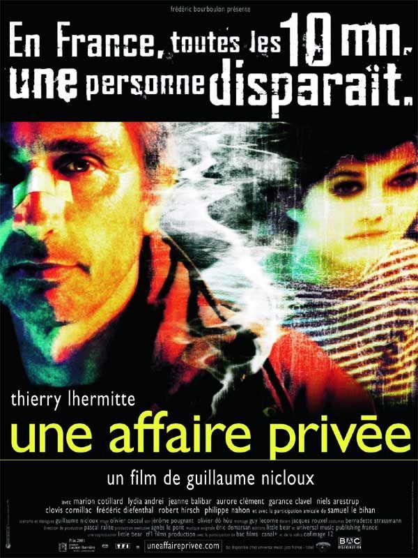 affiche du film Une affaire privée