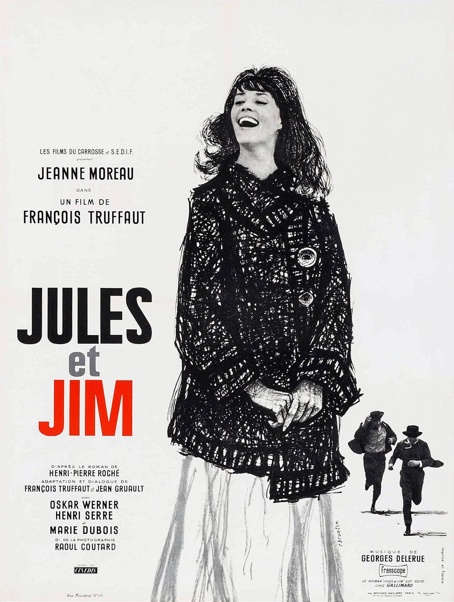 affiche du film Jules et Jim