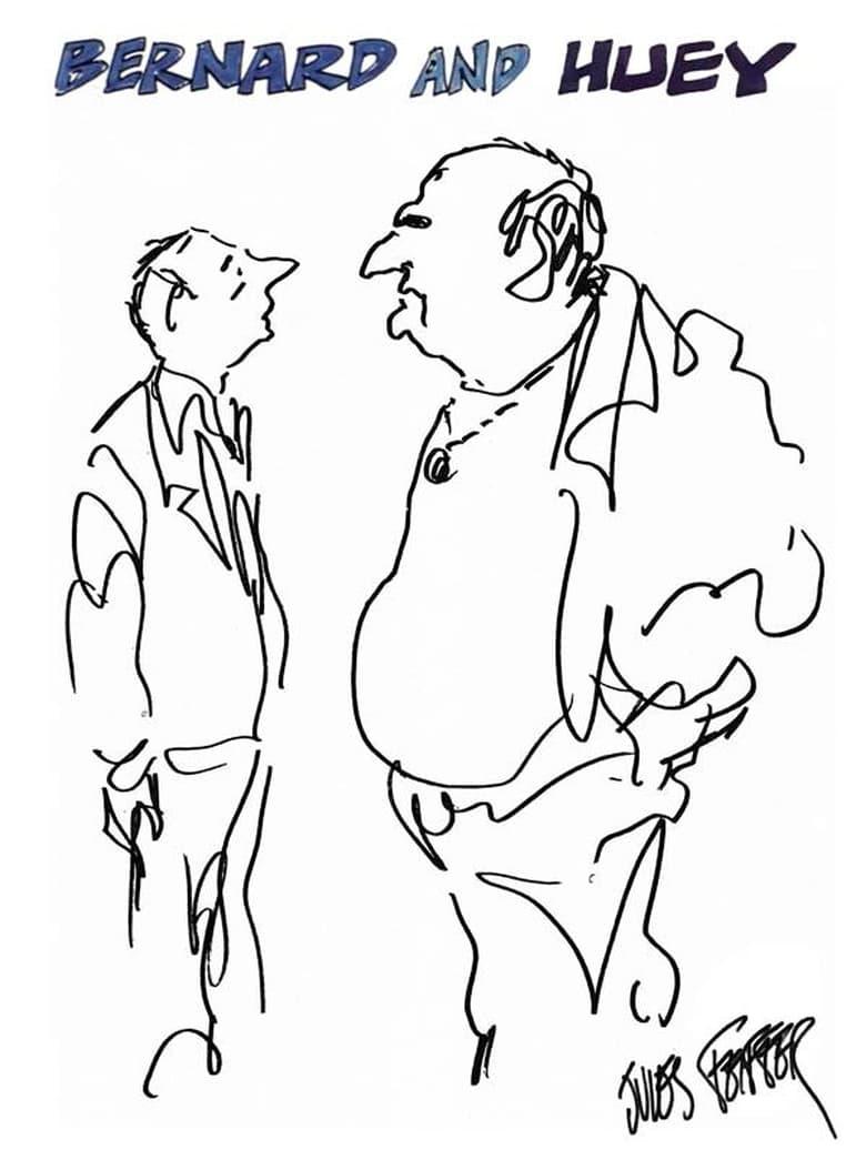 affiche du film Bernard and Huey