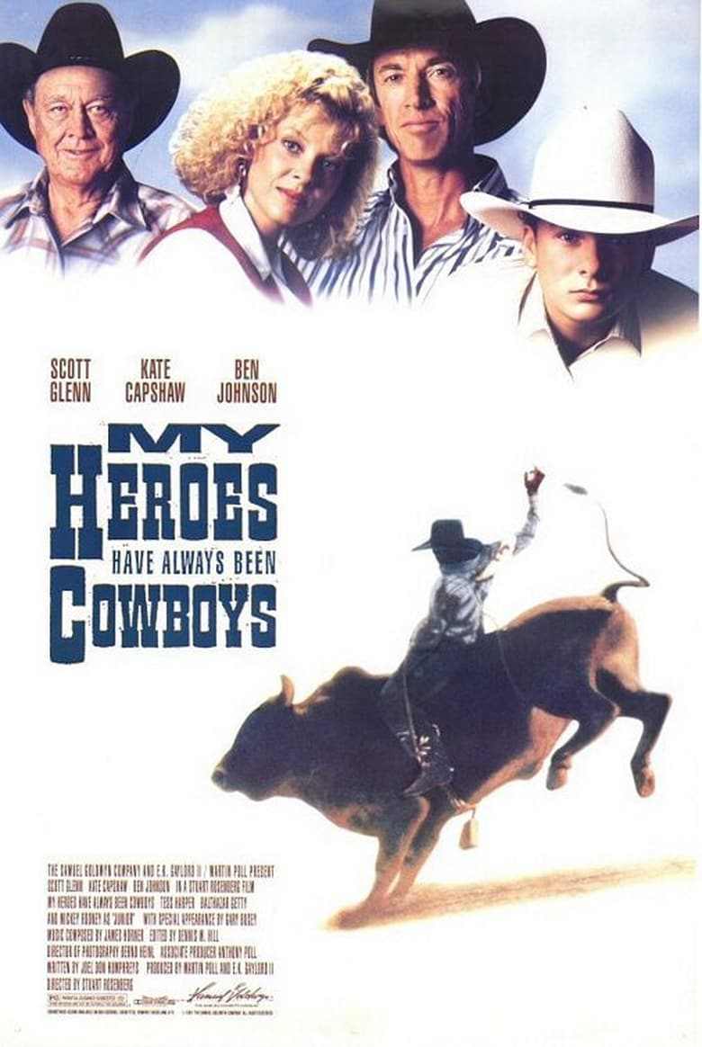 affiche du film My Heroes Have Always Been Cowboys