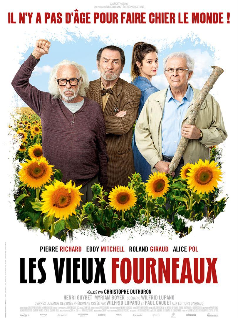 affiche du film Les Vieux Fourneaux
