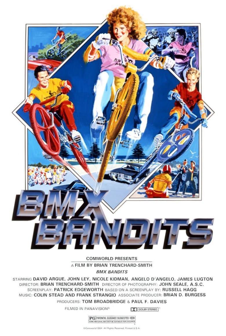 affiche du film Le gang des BMX