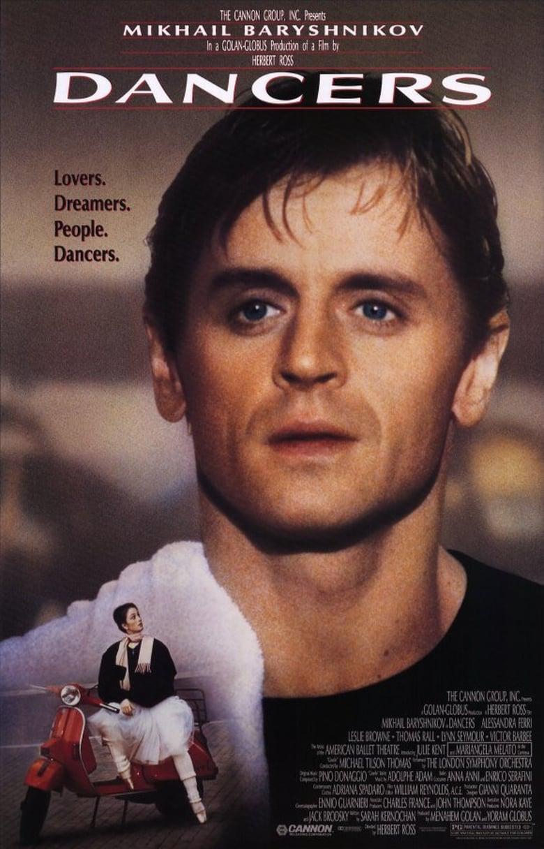 affiche du film Dancers (1987)