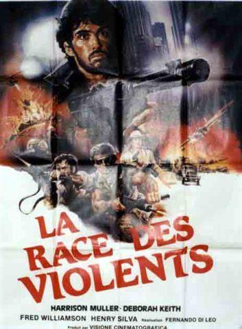 affiche du film La race des violents