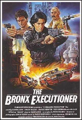 affiche du film The Bronx Executioner