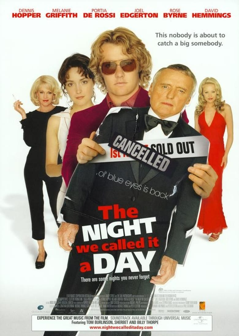 affiche du film The Night We Called It a Day