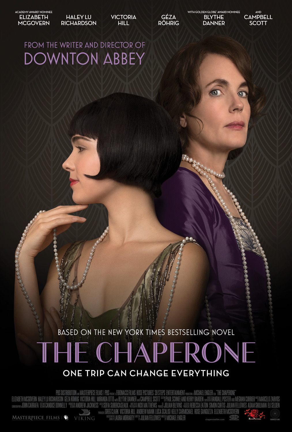 affiche du film The Chaperone