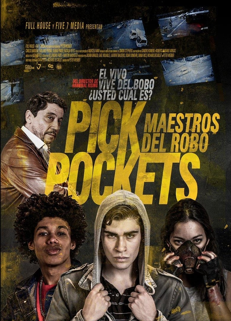 affiche du film Pickpockets
