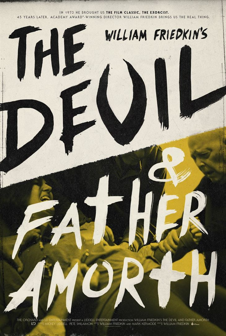 affiche du film The Devil and Father Amorth