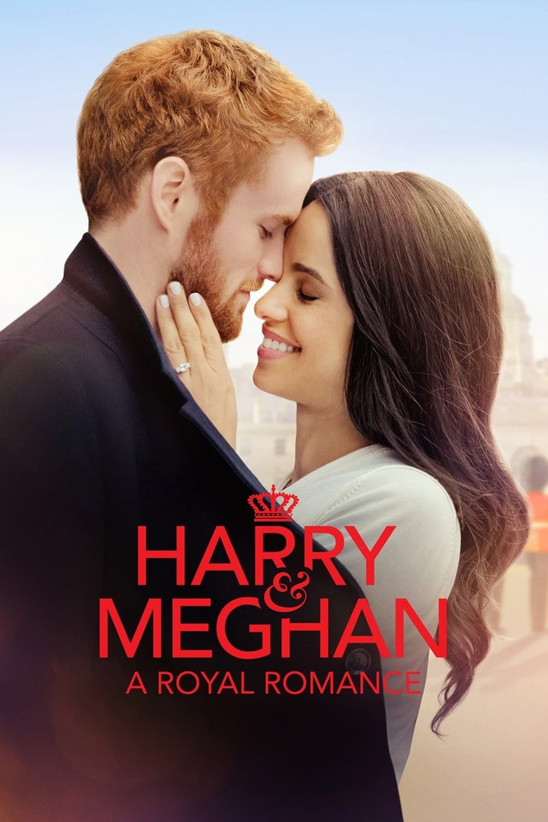 affiche du film Quand Harry rencontre Meghan : Romance Royale (TV)