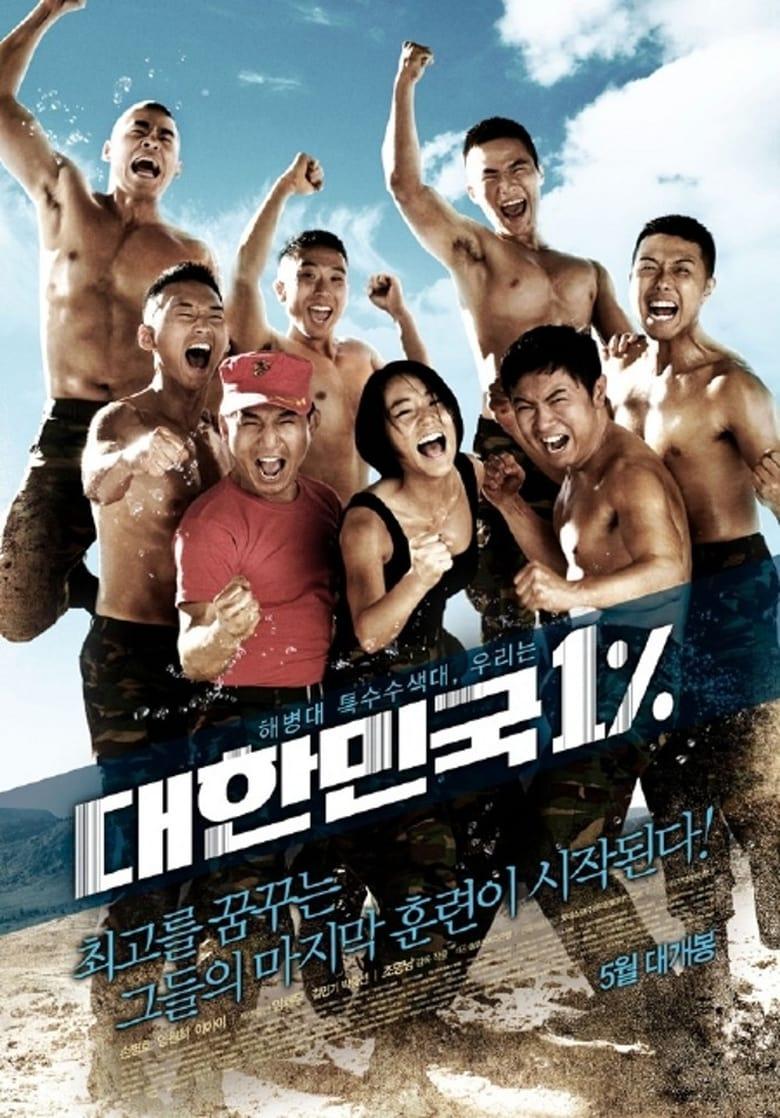affiche du film Republic of Korea 1%