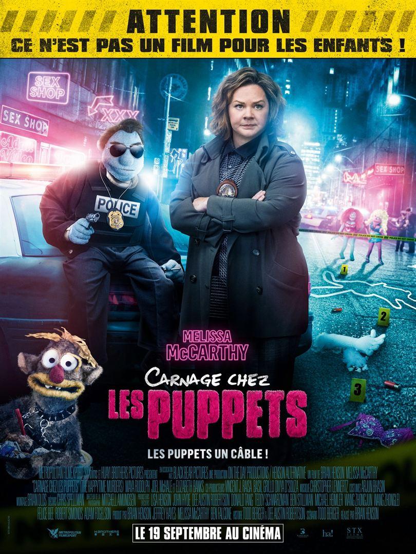 affiche du film Carnage chez les Puppets