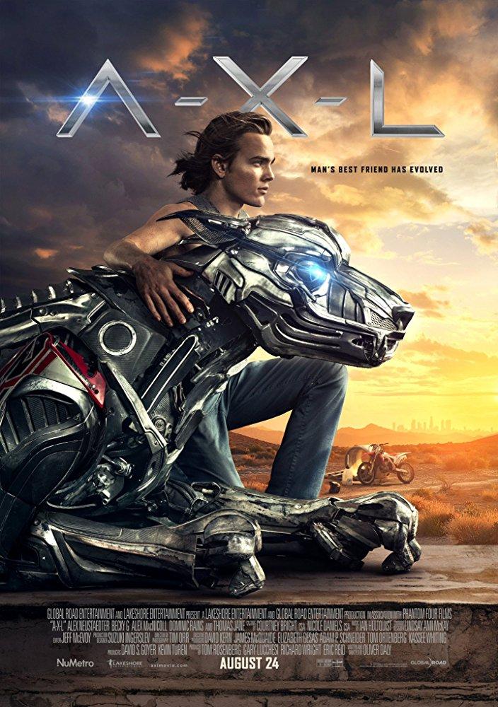 affiche du film A.X.L.