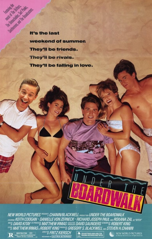 affiche du film Under the Boardwalk