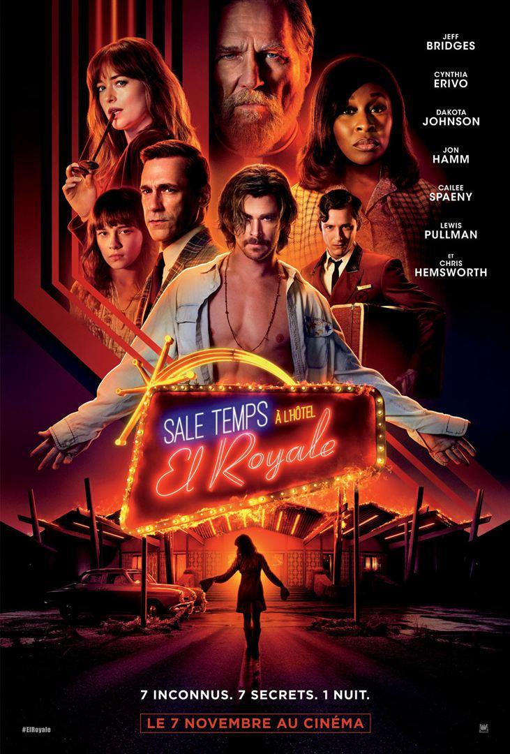 affiche du film Sale temps à l'hôtel El Royale