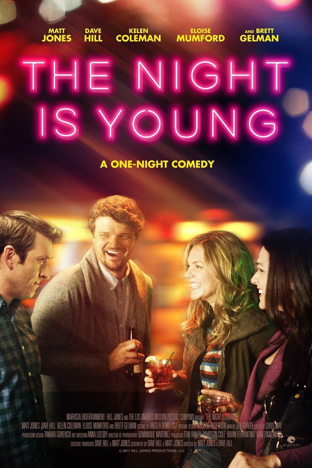 affiche du film The Night Is Young