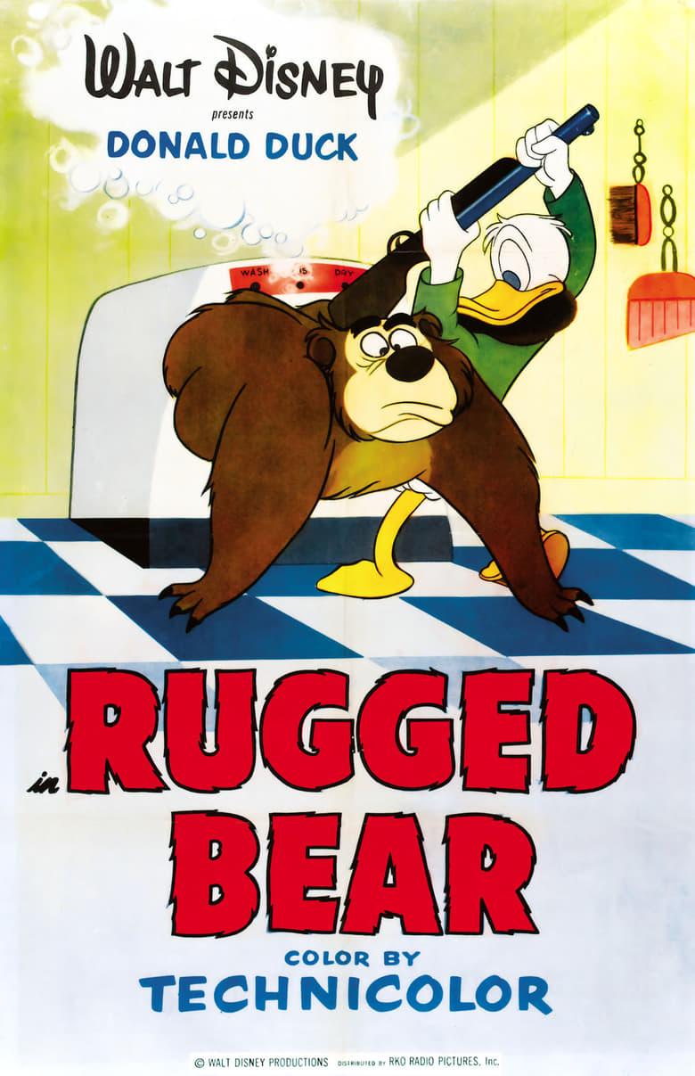 affiche du film Donald et l'ours
